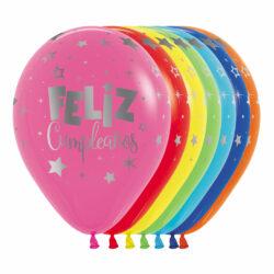 Globo Sempertex Infinity Feliz Cumpleaños Fantasía Metalink Surtido