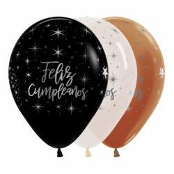 Globo Sempertex Infinity Feliz Cumpleaños Radiante