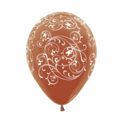 Globo Sempertex Infinity Filigree Color Metal Cobre