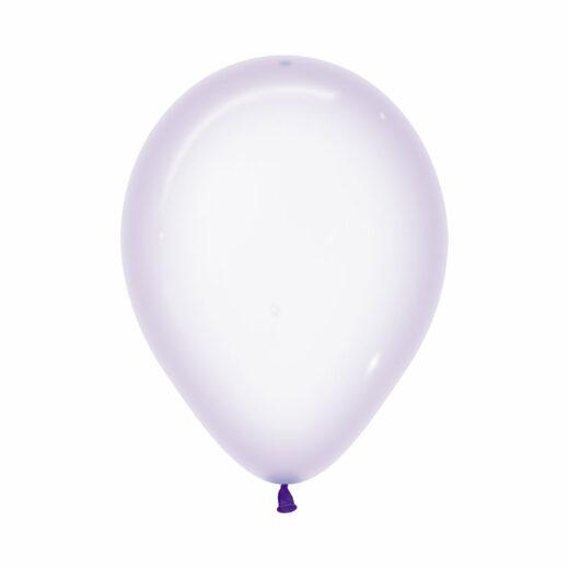 Globo Sempertex Cristal Pastel Lila