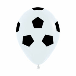 Globo Sempertex Infinity Balón de Futbol Color Fashion Blanco